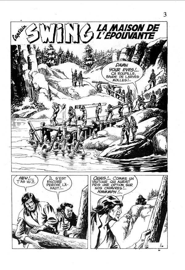 Bien-aimé Capt'ain Swing! (2e série) - BD, informations, cotes FN87