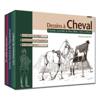 dessin cheval bd