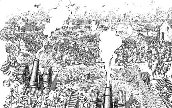 La grande Guerre (Sacco) - BD, informations, cotes
