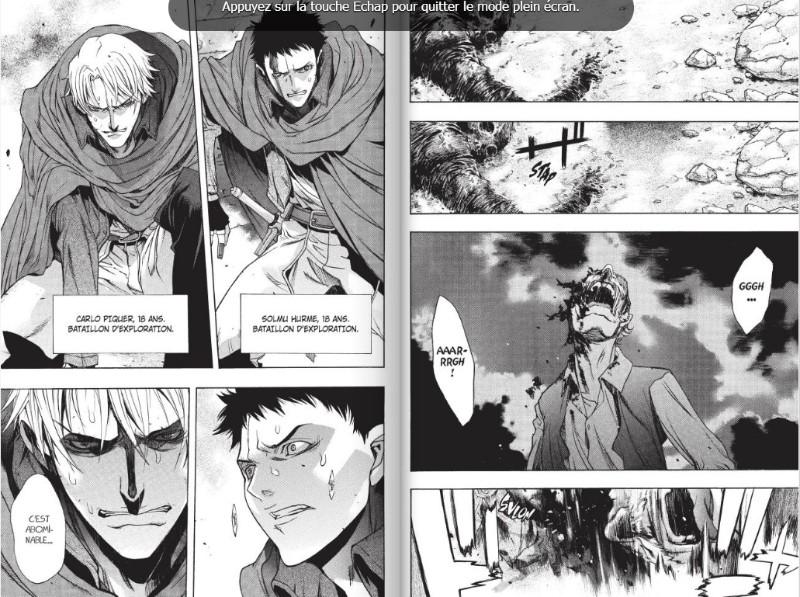 dessin manga l'attaque des titans