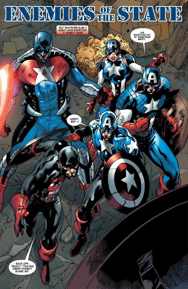 Captain America Corps 2011 Bd Informations Cotes