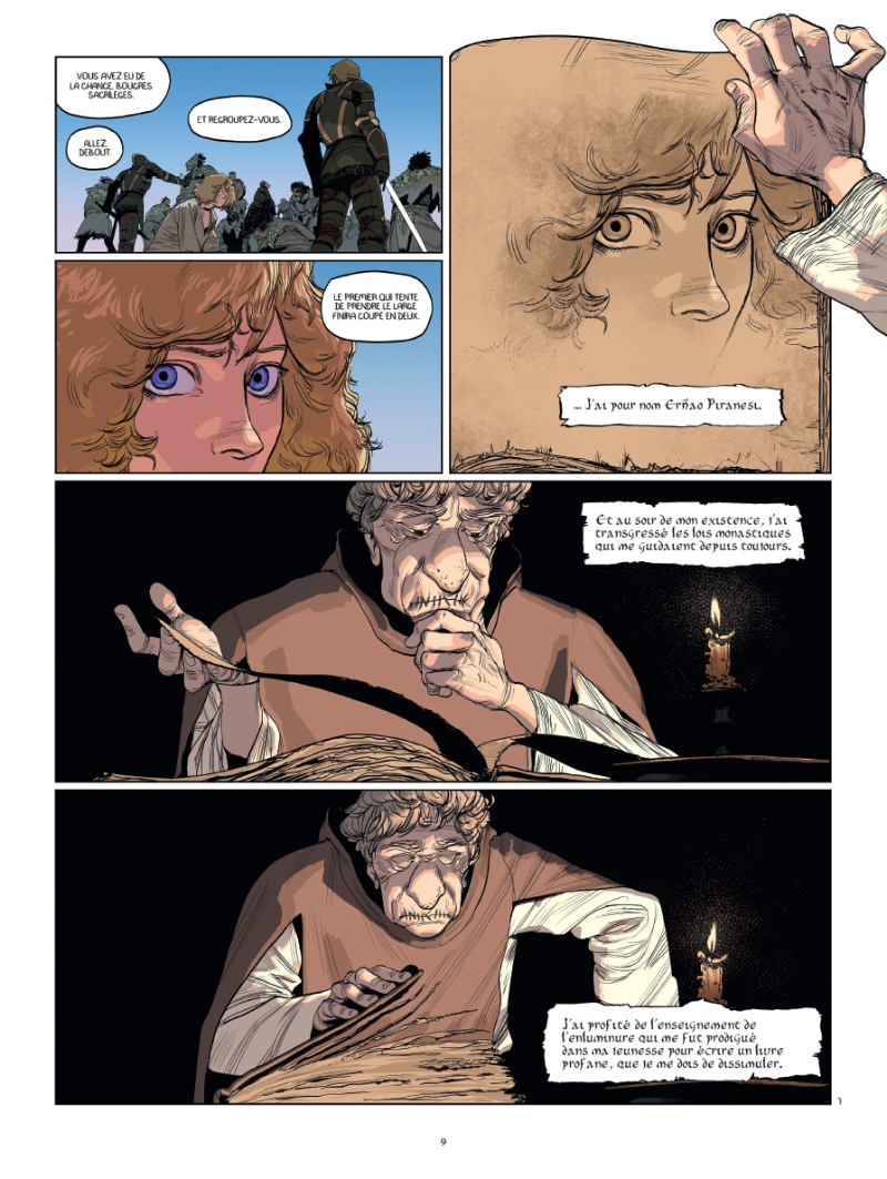 Le moine mort - BD, informations, cotes