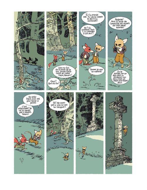 bande dessinee roman de renart