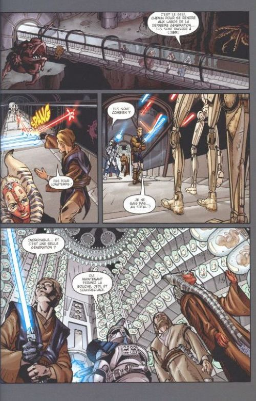 Star wars clone wars bd informations cotes - Bd lego star wars ...
