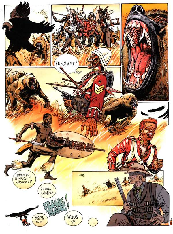 bande dessinee zoulouland