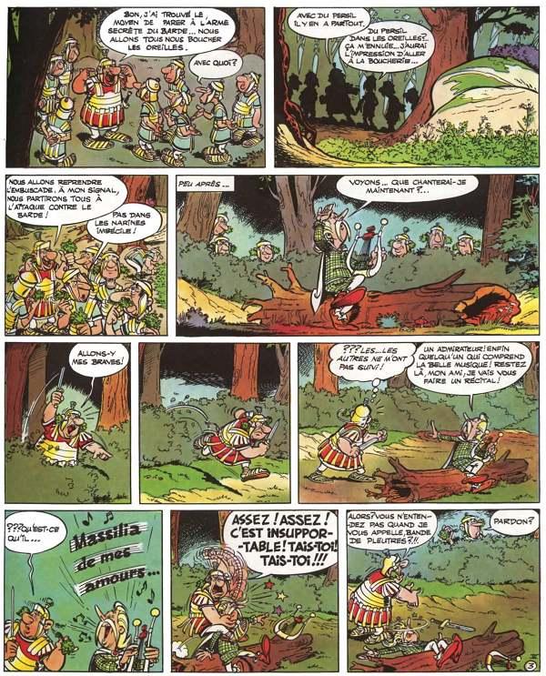 bande dessinee asterix en ligne