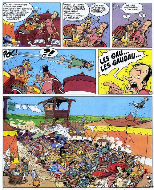 bande dessinee asterix et obelix en ligne