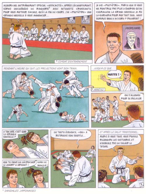 bande dessinee judo