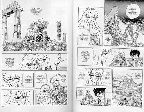 les chevaliers du zodiaque manga