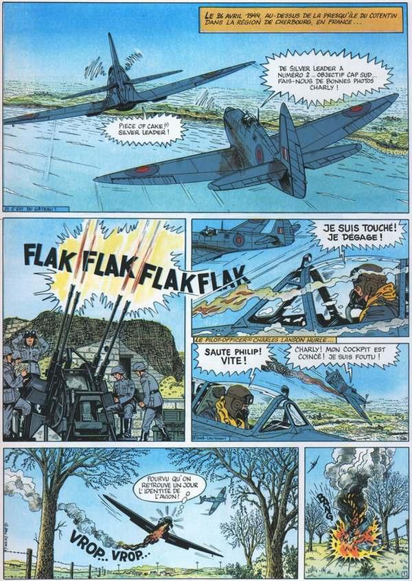 bande dessinee 6 juin 1944