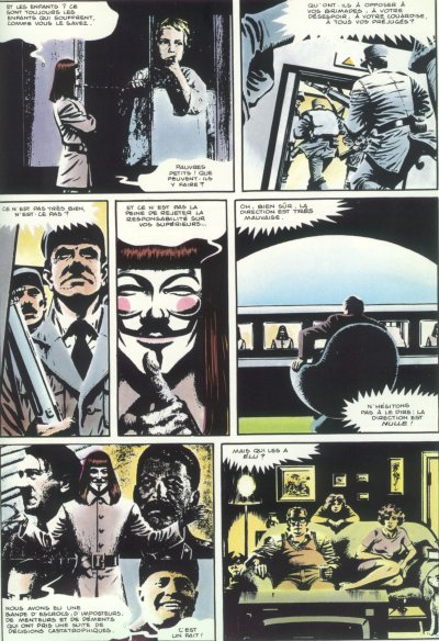 V for Vendetta Book 1 Chapter 1 The Villain   LitCharts