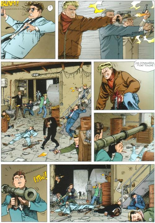 bande dessinee policiere