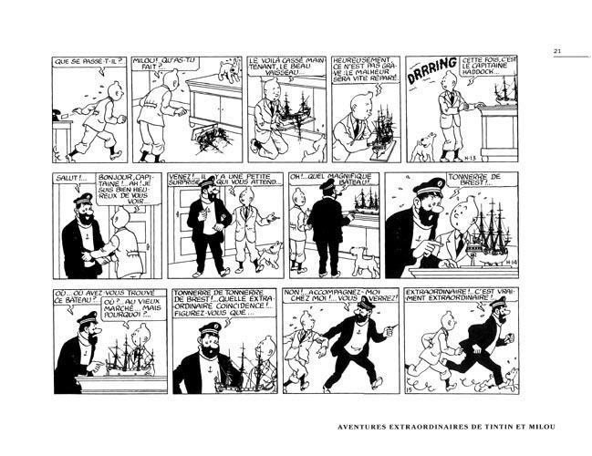 Coloriage Bateau La Licorne Tintin.Tintin Divers Bd Informations Cotes