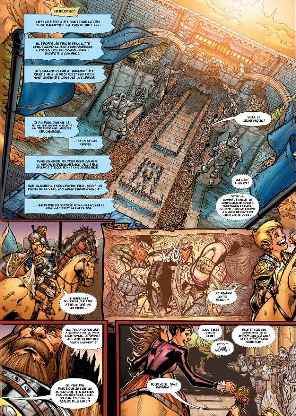 bande dessinee world of warcraft