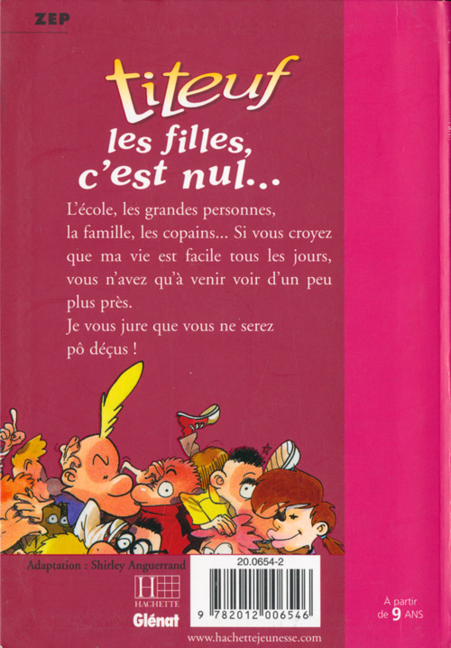 Titeuf Bibliotheque Rose Bd Informations Cotes