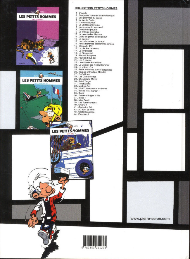 ... Verso de Les petits hommes -44- Eslapion 3 edb4b12ad50