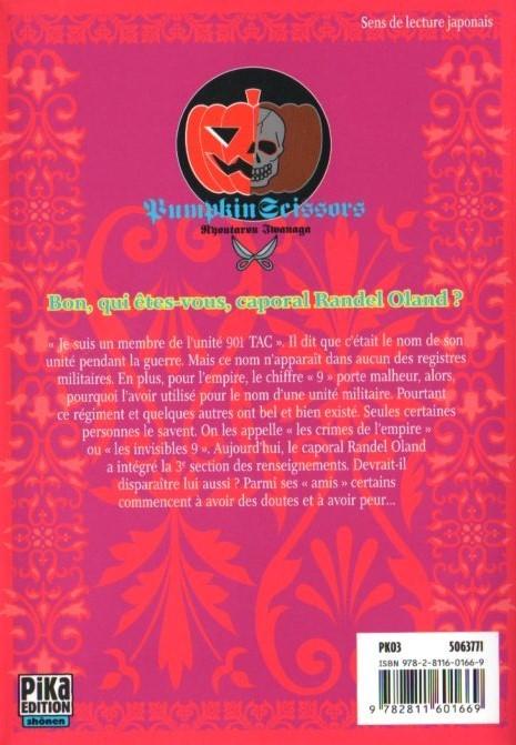 Pumpkin scissors 2 tome 2 - Pourquoi le chiffre 13 porte malheur ...