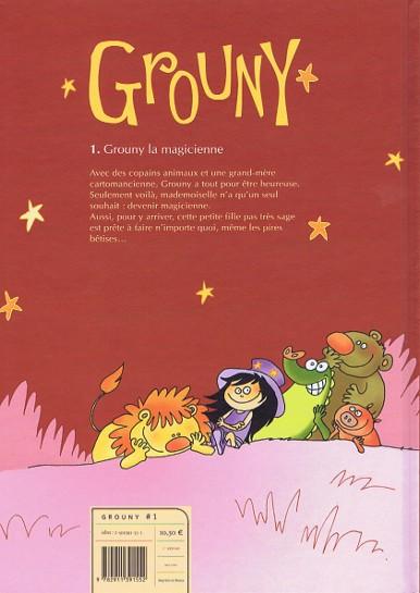 Grouny Tome 1 : Grouny La Magicienne - Sandrine Lemoult