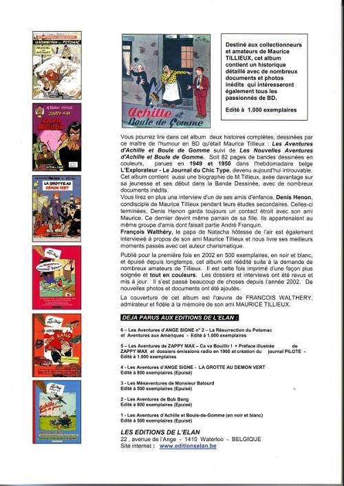 Achille boule de gomme 1 les aventures d 39 achille et boule de gomme - Font des boules de gomme ...