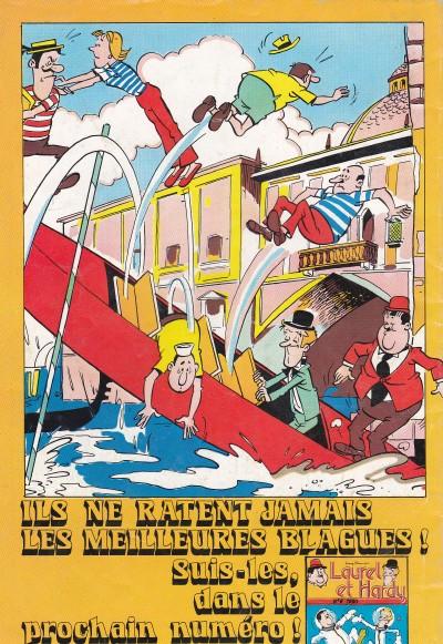 Verso De Laurel Et Hardy 4e Série Dpe 5 Un Toit