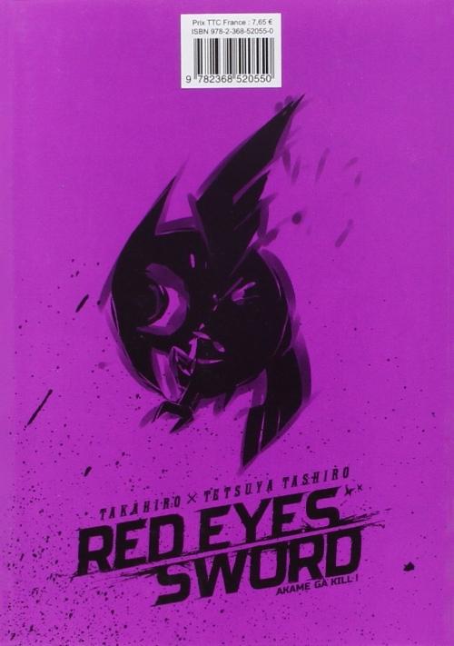 Red Eyes Sword Akame Ga Kill 6 Tome 6