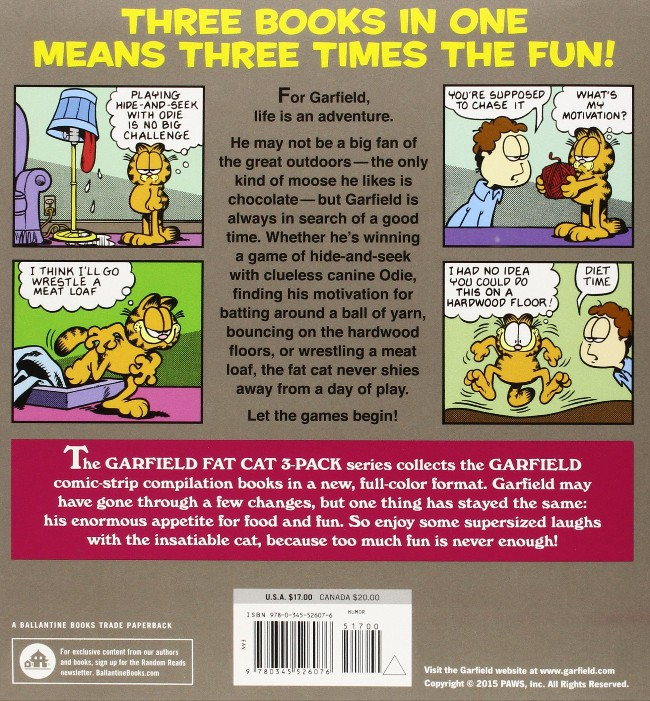 Garfield Fat Cat 3 Pack Bd Informations Cotes