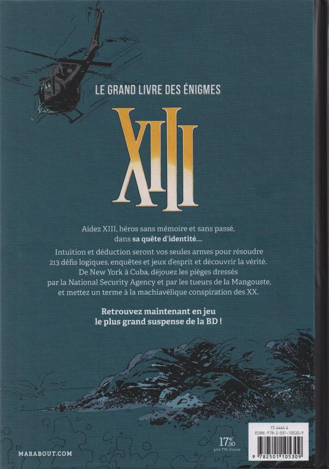 Xiii Hs09 Xiii Le Grand Livre Des Enigmes