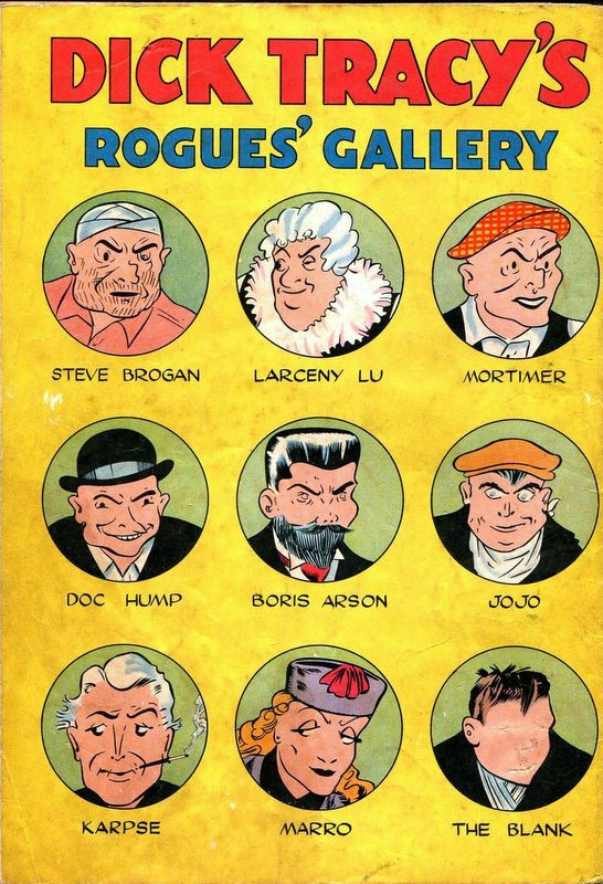 Dick tracy rogues gallery, morning sex pics