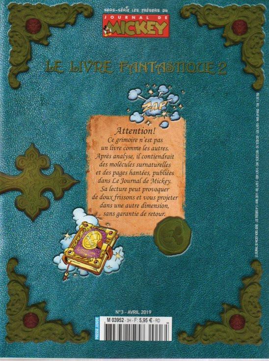 Les Tresors Du Journal De Mickey Hs3 Le Livre Fantastique 2