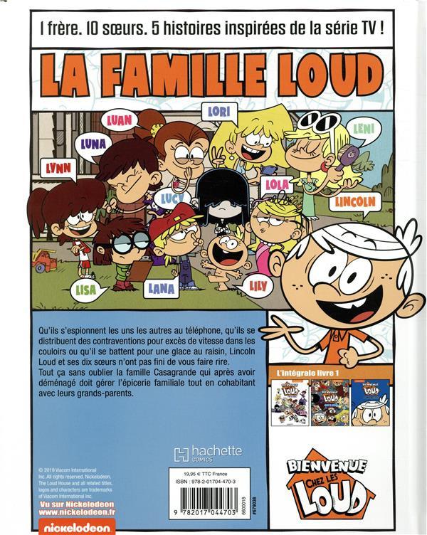 Bienvenue Chez Les Loud Bd Informations Cotes