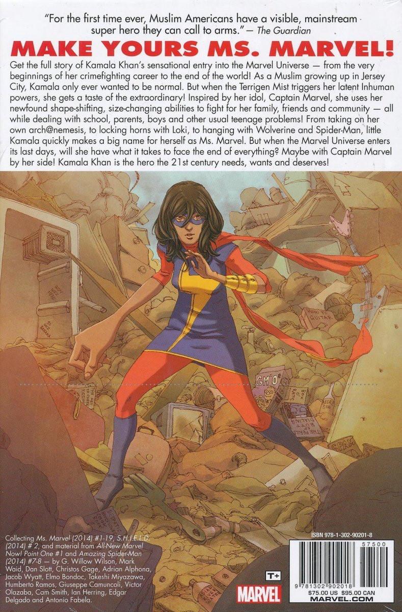Ms Marvel Marvel Comics 2014 Omn01 Ms Marvel Omnibus Vol 1