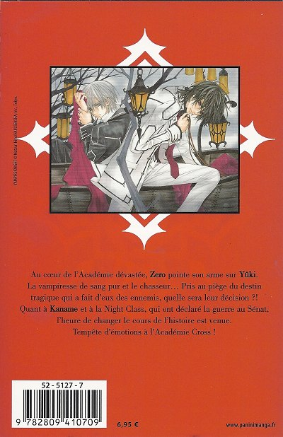 Vampire Knight Zero And Yuki And Kaname Vampire Knight -10- To...